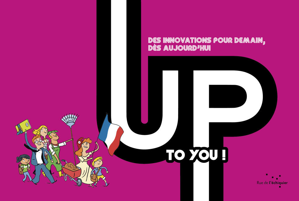 "Couverture du lire ""Up to you !"", de Nicolas Froissard et William Elland-Goldsmith"